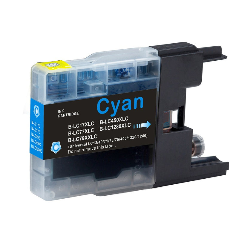 Brother LC-79C New Cyan Compatible Inkjet Cartridge (LC-79C)