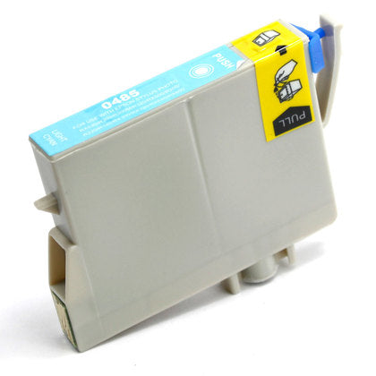 Epson T048 New Light Cyan Compatible Inkjet Cartridge (T048520)