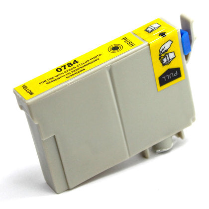 Epson T078 New Yellow Compatible Inkjet Cartridge (T078420)