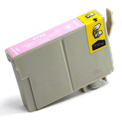Epson T078 New Light Magenta Compatible Inkjet Cartridge (T078620)
