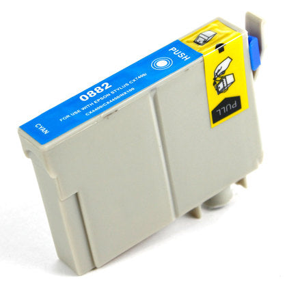 Epson T088 New Cyan Compatible Inkjet Cartridge (T088220)
