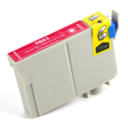 Epson T088 New Magenta Compatible Inkjet Cartridge (T088320)