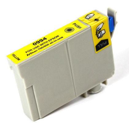 Epson T098/T099 New Yellow Compatible Inkjet Cartridge (T099420)