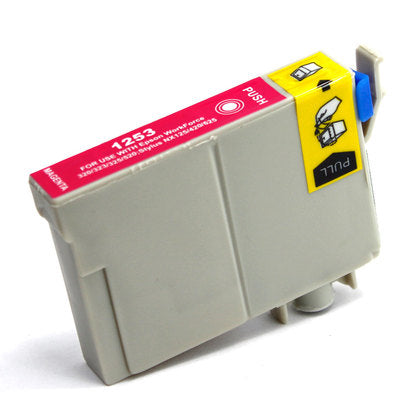 Epson T125 New Magenta Compatible Inkjet Cartridge (T125320)