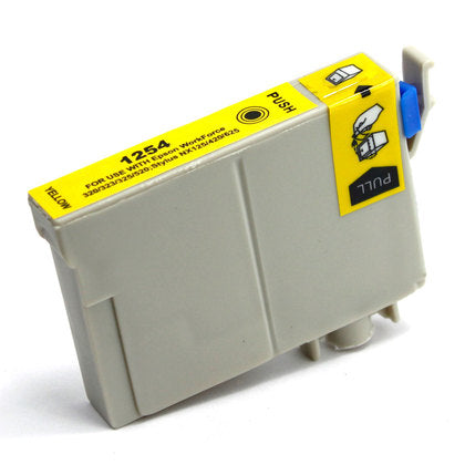 Epson T125 New Yellow Compatible Inkjet Cartridge (T125420)