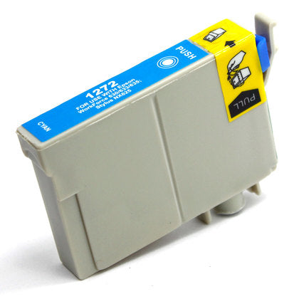 Epson T127 New Cyan Compatible Inkjet Cartridge (T127220)