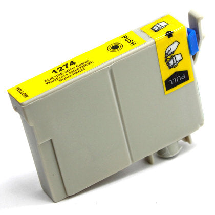Epson T127 New Yellow Compatible Inkjet Cartridge (T127420)