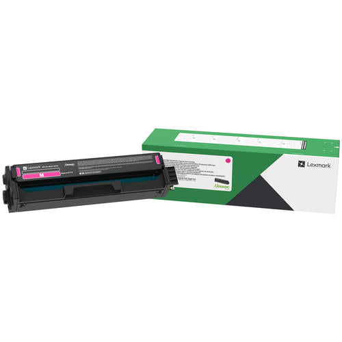Lexmark C331HM0 Original Magenta Return Program Toner Cartridge