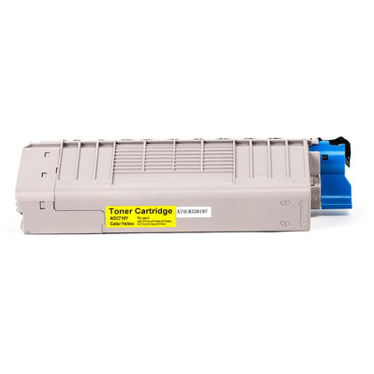 Okidata 43866101 Y New Compatible Yellow Toner Cartridge