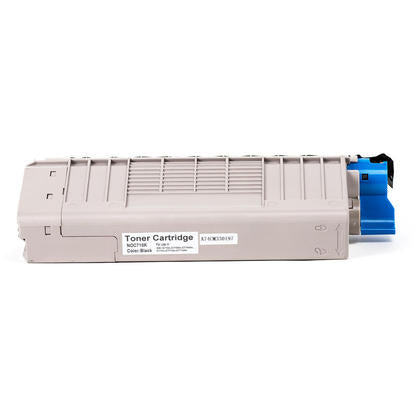 Okidata 43866104 BK New Compatible Black Toner Cartridge