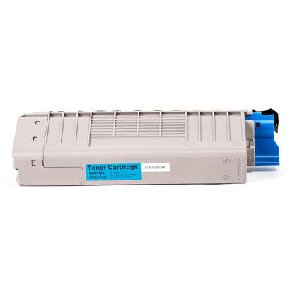 Okidata 44318603 C New Compatible Cyan Toner Cartridge