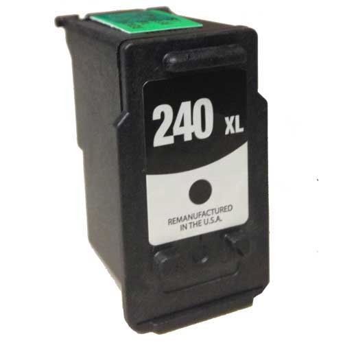 Canon PG-240XL Black Remanufactured Inkjet Cartridge - (High Capacity of Canon 240)