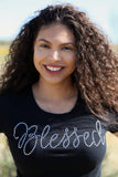 Blessed Rhinestone (2-sided) T-Shirt