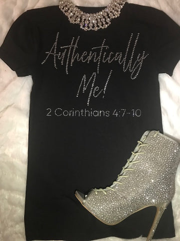 Authentically Me Rhinestone T-Shirt