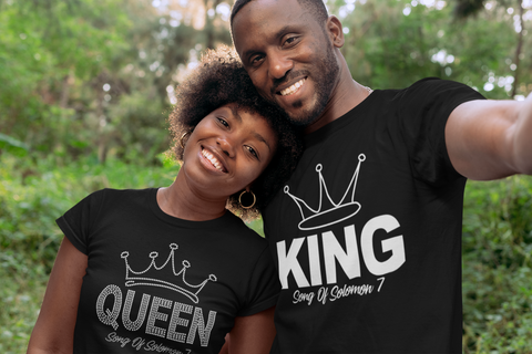 King or Queen Couple's T-Shirt