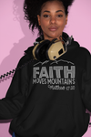 Faith Moves Mountains Rhinestone Hoodie