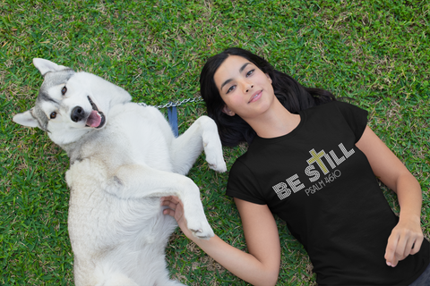 Be Still Rhinestone T-shirt