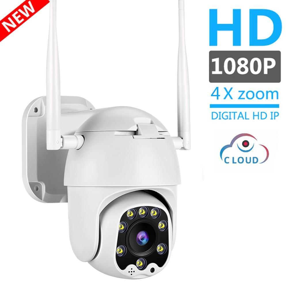 1080P 2MP Wireless IP Camera Wifi Speed Dome PTZ Outdoor IP66 Onvif Two Way Audio
