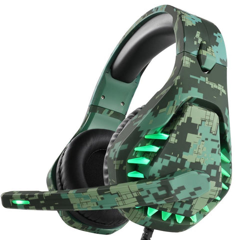 3.5mm Gaming Headset With Light Mic