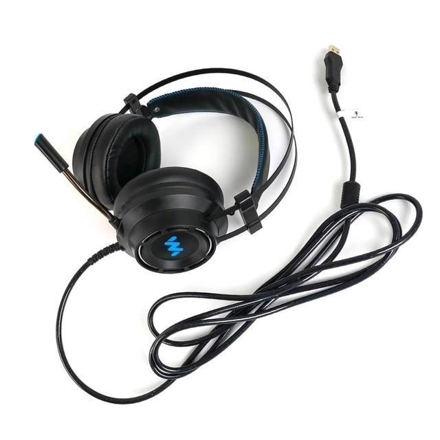 7.1 Gaming Headset- Surround Sound RGB Light