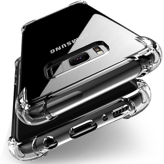 Clear Soft TPU Case For Samsung's