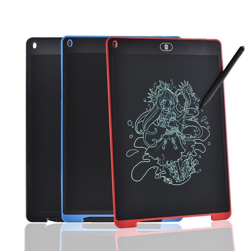 "Electronic Graphic Tablet LCD Writing Tablet For Drawing With Pen 12"" 8.5 "" Art LCD Drawing Board Digital Tablet to Drawing Pad"