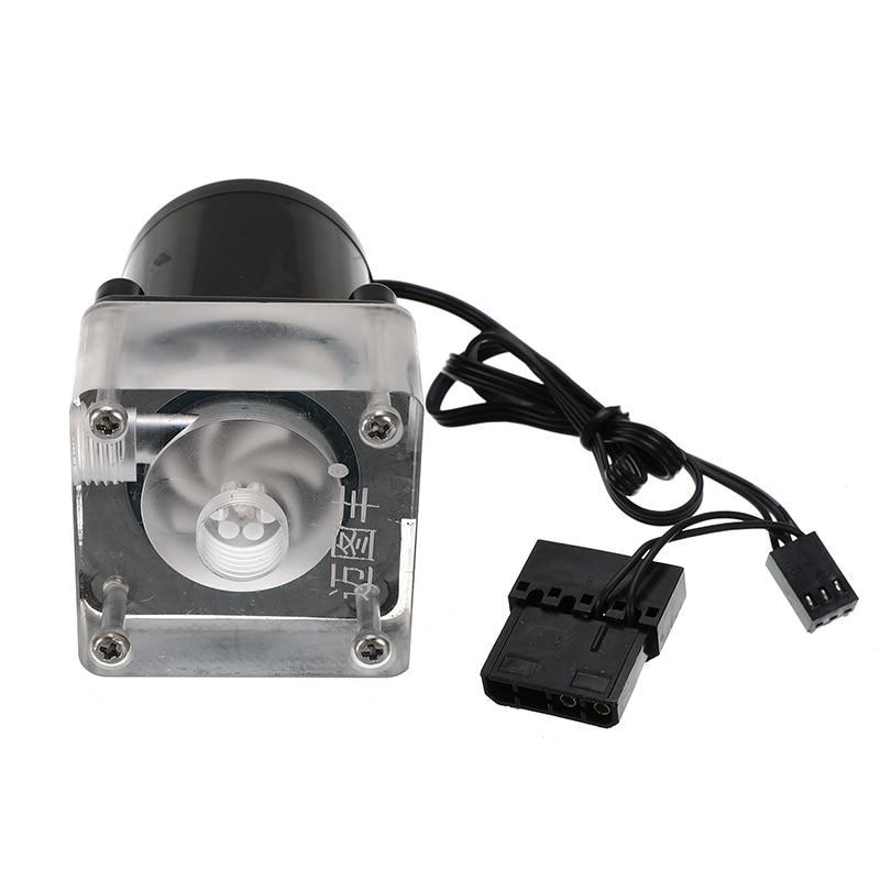 High Quality New DC 12V G1/4 Low Noise CPU Cooling Water Pump For Desktop PC Computer Cool System Water Cooling Cooler For CPU