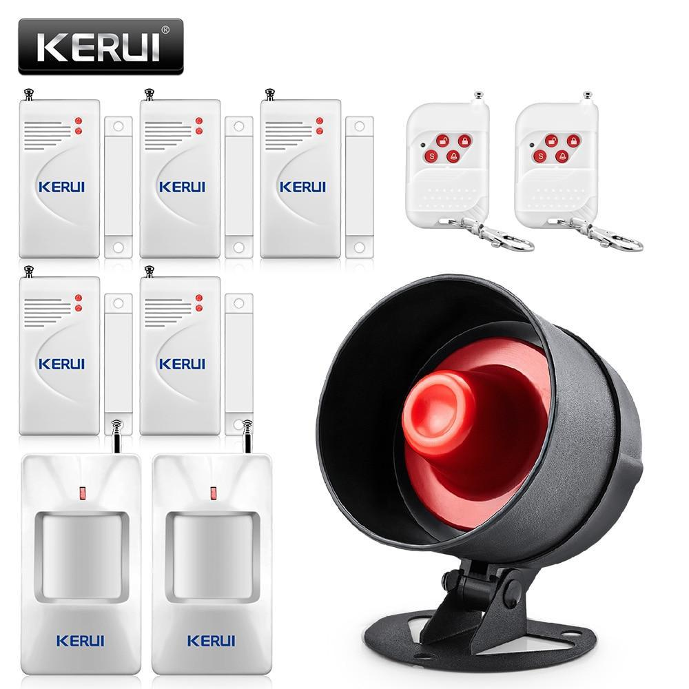 KERUI Cheap Wireless Burglar Alarm System