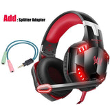 Led 3.5mm Gaming Headset With Microphone