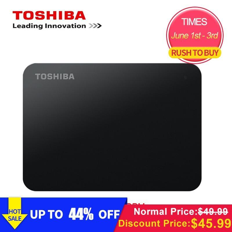 "Original Toshiba 1TB External Mobile HDD 2.5"" USB 3.0 5400RPM External Hard Drive"