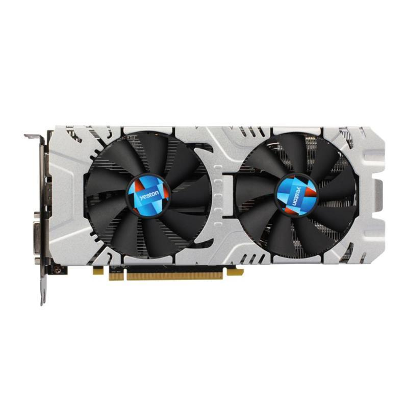 Yeston RX580 8G 256bit GDDR5 PCI-Express 3.0 Gaming Desktop Computer PC Video Graphics Cards Support DVI-D HDMI DP VSR Desktop