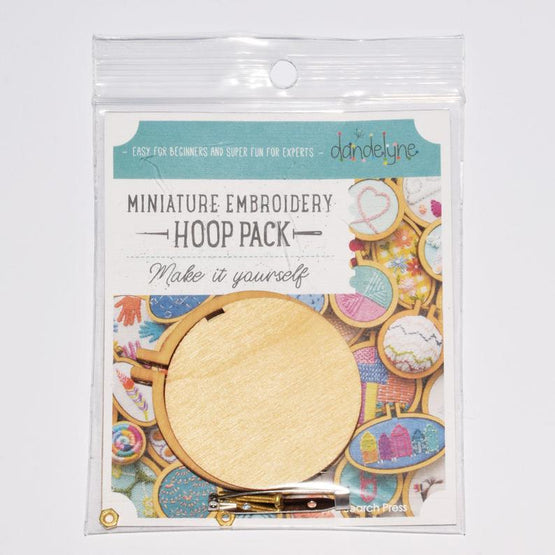 "2.2"" mini embroidery hoop - 1 piece"