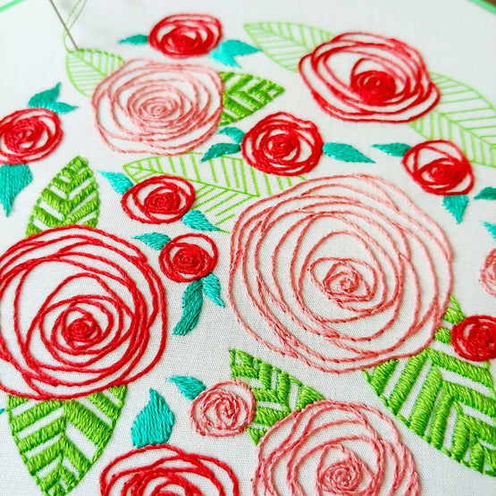 coming up roses PDF pattern