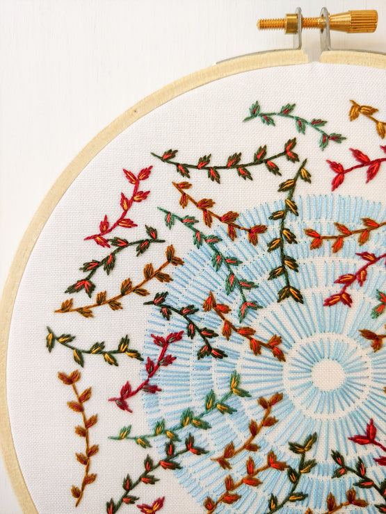 sky song embroidery kit