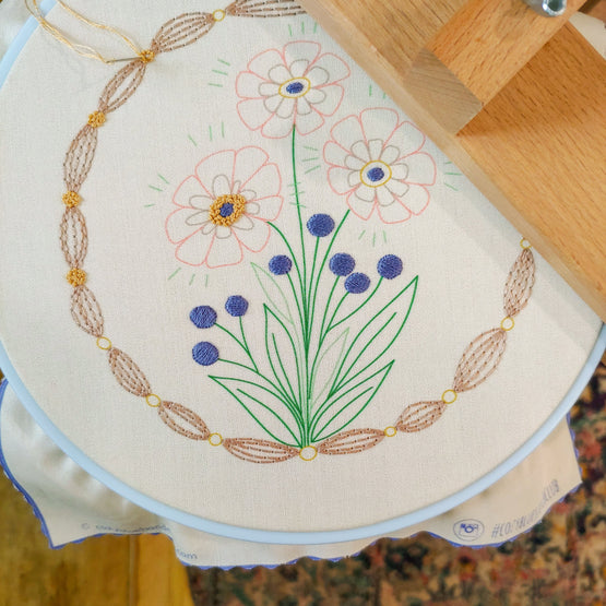true bloom embroidery kit