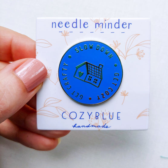 needleminder – slow down, get cozy, get crafty