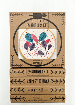 free fall embroidery kit [last chance! ]
