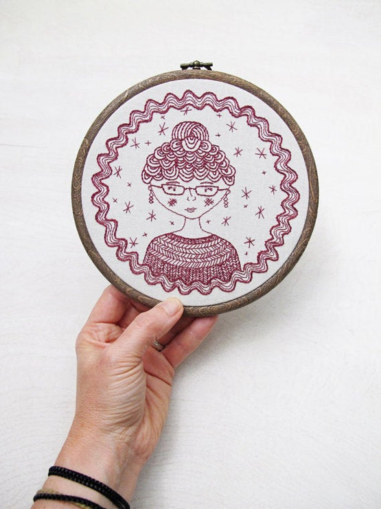 captain's wife embroidery kit [last chance!]