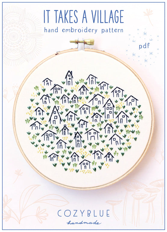 it takes a village PDF pattern