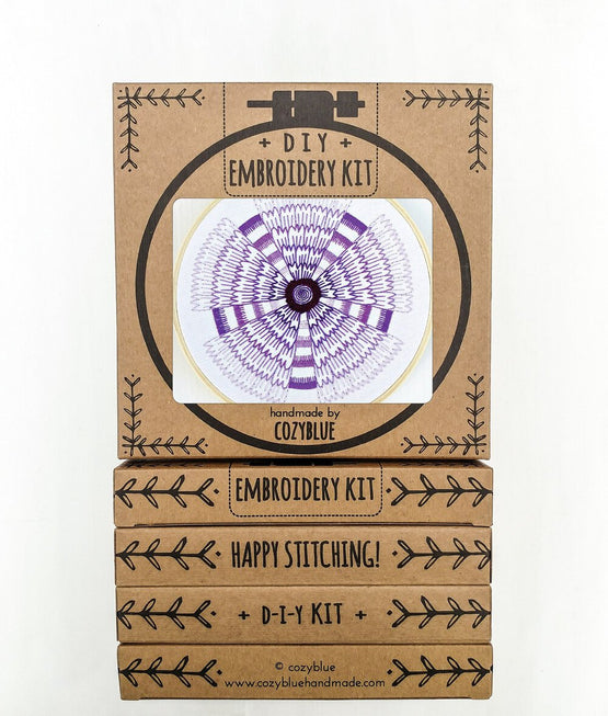 shadow flower embroidery kit [last chance!]
