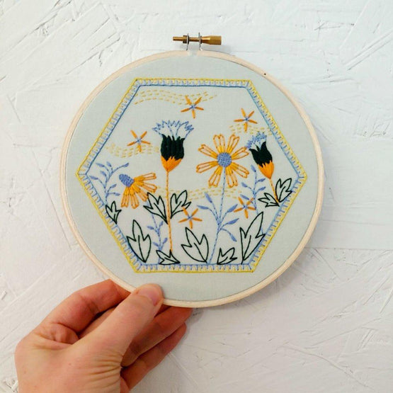 summer breeze embroidery kit