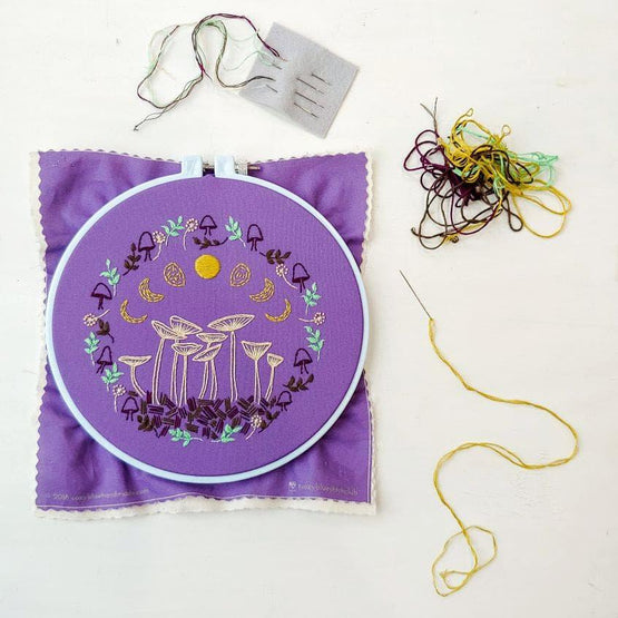 fairy ring PDF embroidery pattern