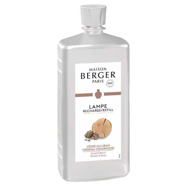 Virginia Cedarwood Lampe Berger Refill 1 litre