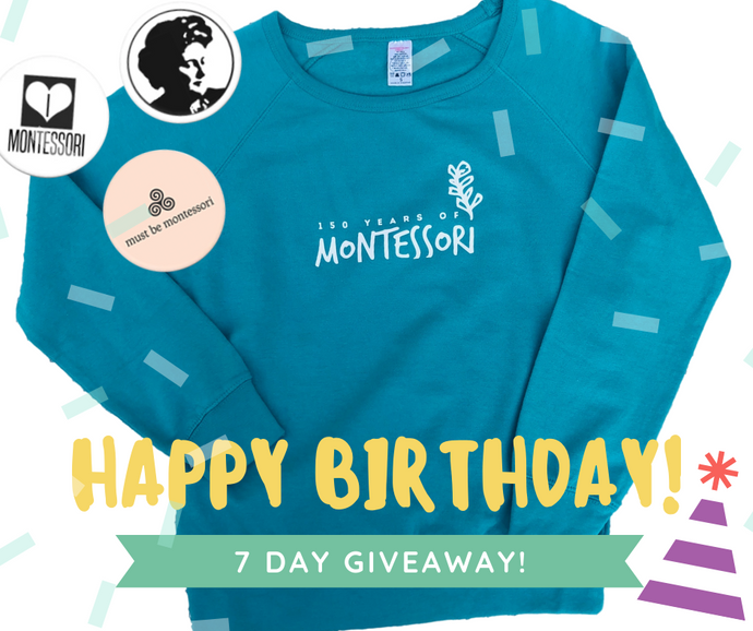 7 Day Giveaway: Celebrating 150 Years of Montessori