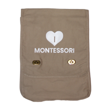 Load image into Gallery viewer, I Heart Montessori Messenger Bag
