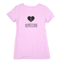 Load image into Gallery viewer, I Heart Montessori T-Shirt FUNDRAISER BOX
