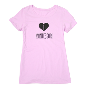 I Heart Montessori T-Shirt FUNDRAISER BOX