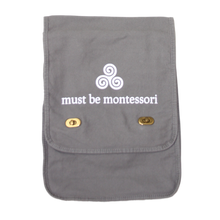 Load image into Gallery viewer, Must Be Montessori Messenger Bag