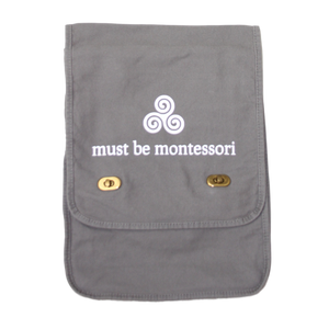 Must Be Montessori Messenger Bag
