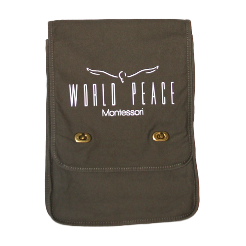 World Peace Montessori Messenger Bag
